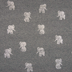 ALPEN FLEECE, GLITTER ELEPHANT